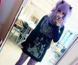 pastel, kawaii, and pastel goth image