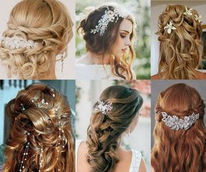 novia and hairstyle image