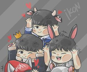 bobby, jinhwan, and chanwoo image