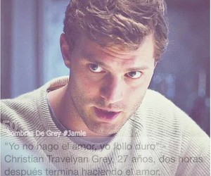 christian, grey, and fifty shades of grey image