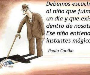 frases, infancia, and paulo coelho image