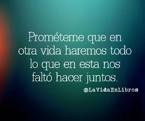 love, frases, and juntos image