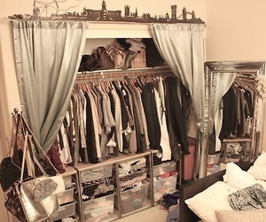 closet, clothes, and vintage image