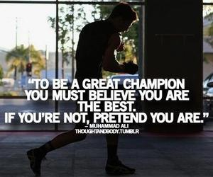 motivation, quote, and champion image
