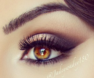 eyes, glamour, and make up image