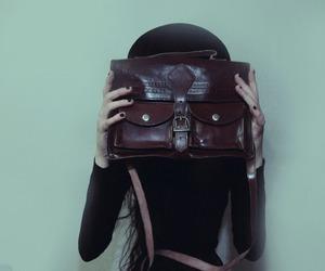 bag, dark, and grunge image