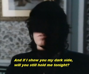 quotes, Pink Floyd, and dark image