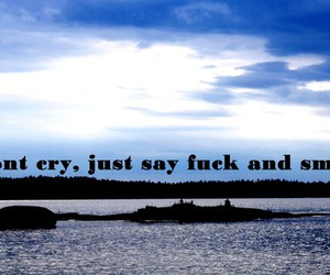 cry, fuck, and text image