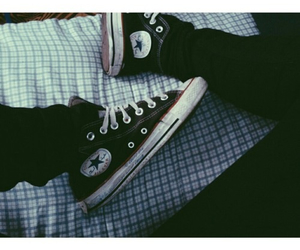 converse and grunge image