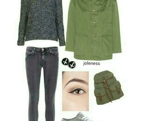 cool, lookbook, and outfits image