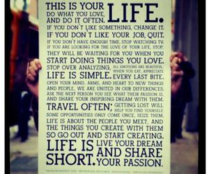 life, text, and quote image