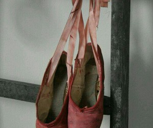 ballet shoes and pink image