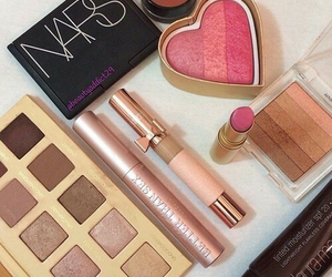 nars, make up, and pink image