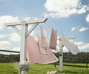 clothesline, launderette, and laundry image