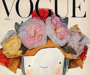flowers and vogue image