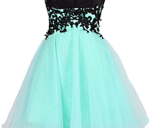 beautiful, dress, and party image