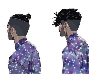 zayn malik, one direction, and hair image