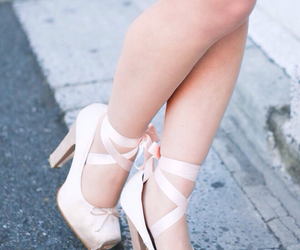 ballet, heels, and pink image