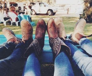 concert, country, and cowboy boots image