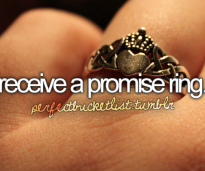 ring, promise, and bucket list image