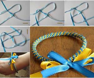 bracelet, tutorial, and diy image