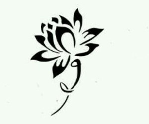 flower, foot, and lotus image