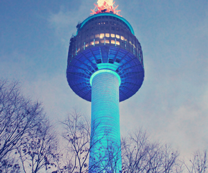 korea and tower image