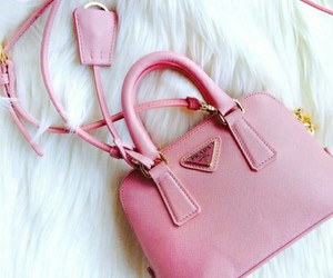 pink, Prada, and bag image