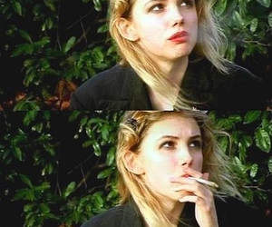 cassie, skins, and cigarette image