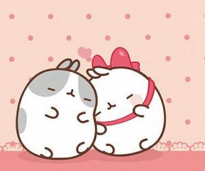 molang, cute, and kawaii image