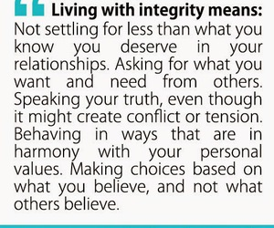 famous people, quotes, and integrity image