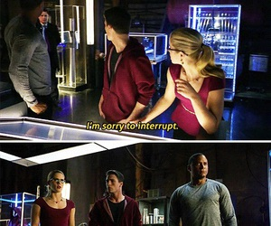 arrow, Arsenal, and felicity smoak image