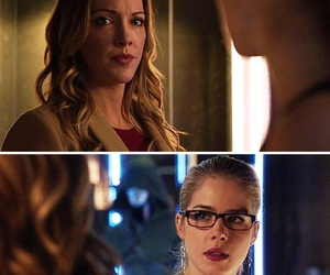 arrow, Black Canary, and laurel lance image