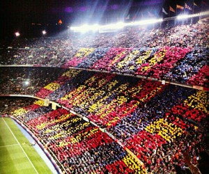 Barca, Barcelona, and nou camp image