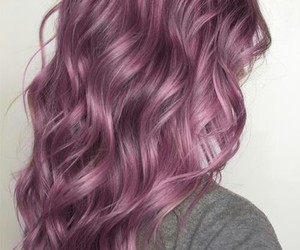 curly, grunge, and dye image