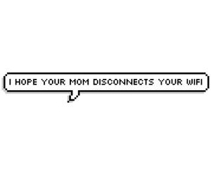 hope, mom, and wifi image