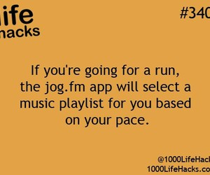 music, life hacks, and hacks image