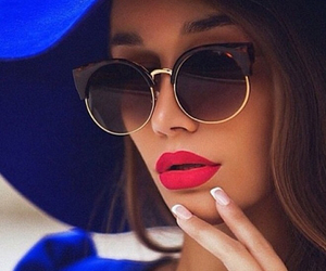 fashion, lips, and nails image