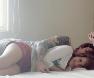 tattoo, cute, and love image