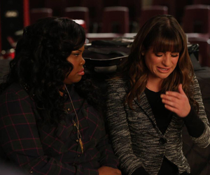 glee, rachel, and lea michele image