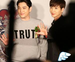 kangin, Leeteuk, and super junior image