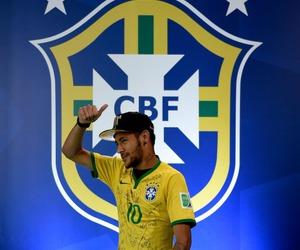 neymar, brazil, and brasil image