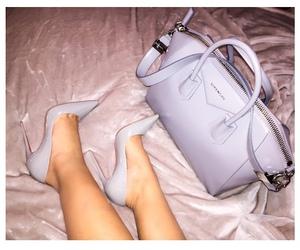 bag, heels, and Givenchy image