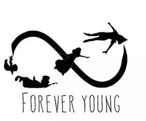 cool, Forever Young, and peter pen image
