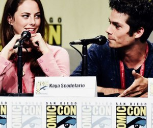 KAYA SCODELARIO, movie, and maze runner image