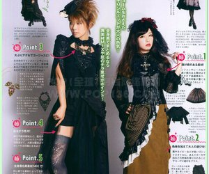 girls, ghotic, and japan image