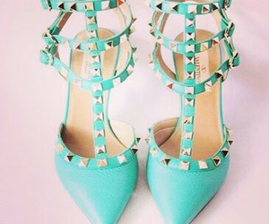 fashion, heels, and valentino shoes image