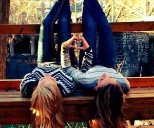 friends, bff, and heart image
