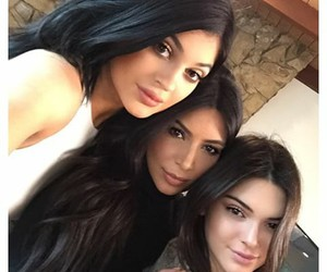 beautiful, kim kardashian, and kendall jenner image