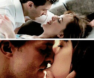 kiss, fifty shades of grey, and love image